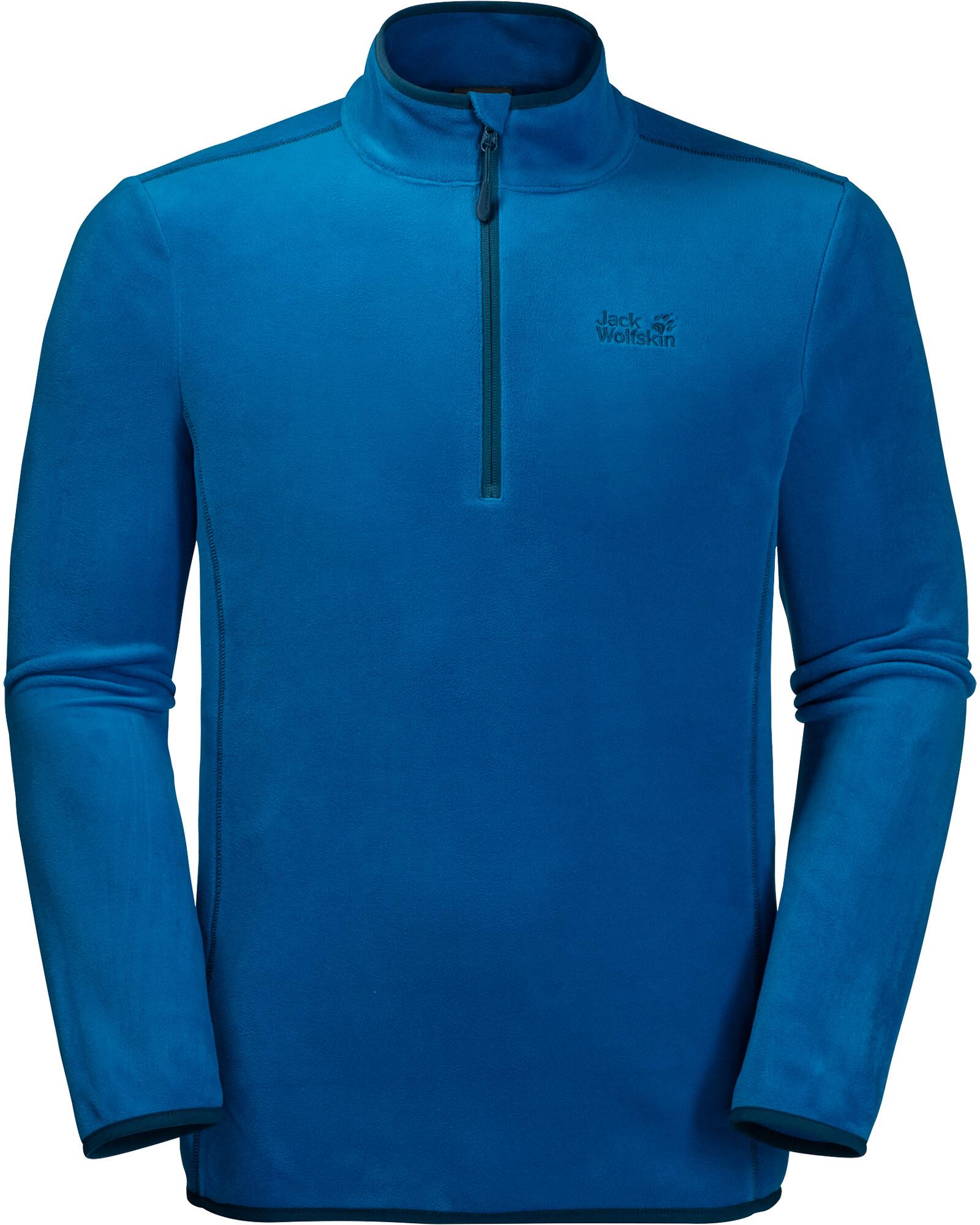 am besten authentisch außergewöhnliche Auswahl an Stilen Sonderkauf Jack Wolfskin Echo Fleece Pullover Herren electric blue